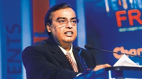 Mukesh Ambani, chairman, Reliance Industries Limited. (HT archive)