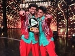 Rupesh Soni and Piyush Gurbhele have won Dance Deewane 3.