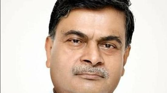 Minister RK Singh hit out at the Congress saying the party had run out of ideas (Photo Courtesy Twitter)