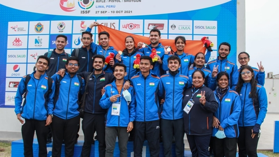 India finish on top with a 43-medal haul at Junior Shooting World Championship(ISS Shooting / Twitter)