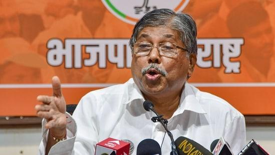 BJP leader Chandrakant Patil condemned the Maharashtra bandh.(PTI File Photo)