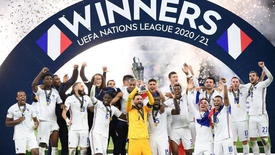 Mbappe winner as France beat Spain in Nations League final(TWITTER)