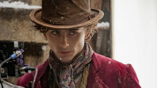 Timothee Chalamet is set to play a young Willy Wonka.