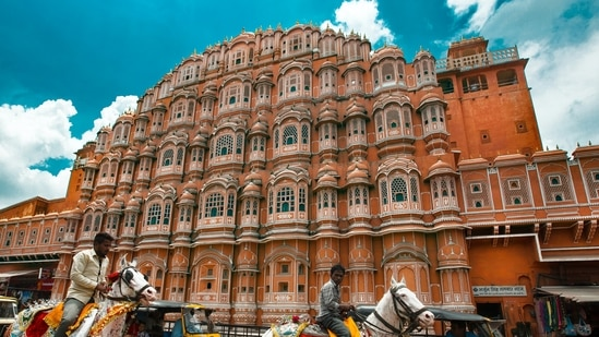 Hawa Mahal in Jaipur (Used only for representative purpose)