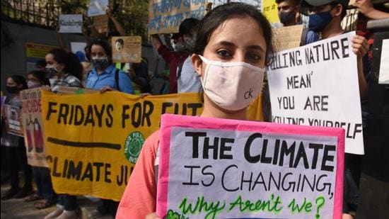 Do per capita carbon emissions have a role to play in deciding climate action being taken by countries? (Raj K Raj/HT PHOTO)