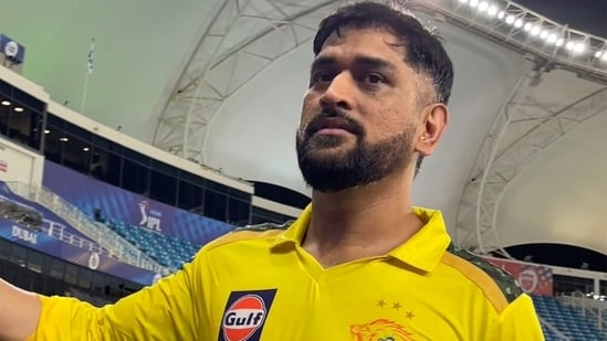 There was no stopping MS Dhoni on Sunday night in CSK's match against DC in Dubai.(CSK/Twitter)
