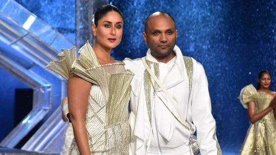 Kareena Kapoor isn't new to the ramp. She had turned showstopper for designer Sabyasachi while being pregnant with son Taimur. (Varinder Chawla)