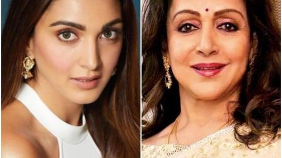 Kiara Advani has been compared with Hema Malini.