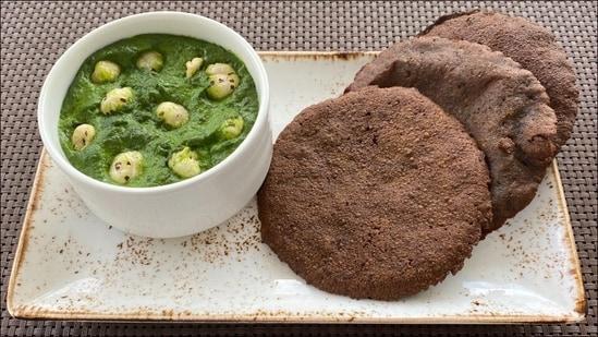 Navratri 2021 special recipe: Singhare ki poori and Spinach Makhana(Chef Vivek Tamhane, Senior Executive Chef, BLVD Club—Bangalore )
