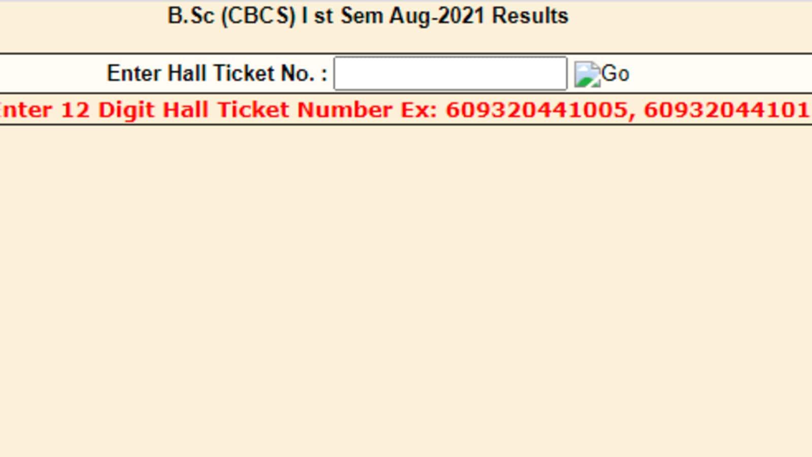 OU declares BSc, BCom, BBA, BA 1st sem, MBA (eve), BE 8th Sem (makeup)  results - Kfindtech