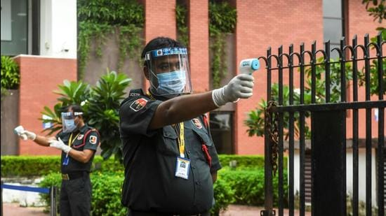 Talk to guards across Delhi and most of them will tell you that they have not undergone training as prescribed under the law (Representative Image) (AFP)