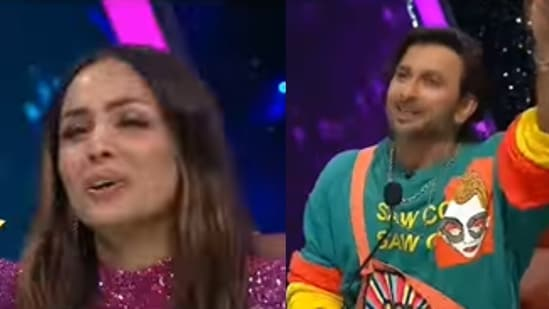 Malaika Arora and Terence Lewis are judging India's Best Dancer 2.