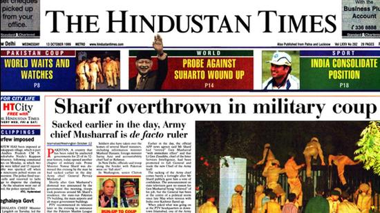 HT This Day: October 13, 1999 — Sharif overthrown in military coup