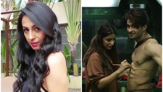 Kashmera Shah reacted to the Miesha Iyer-Ieshaan Sehgaal romantic track on Bigg Boss 15.
