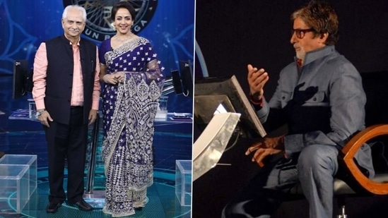 Hema Malini and Ramesh Sippy will relive Sholay days with Amitabh Bachchan on KBC 13.