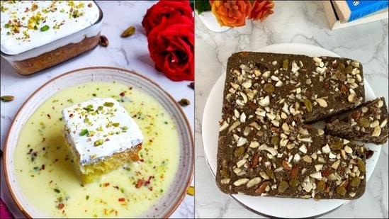 Navratri 2021 special recipe: Try homemade Rasmalai, Kuttu Atta Dry Fruit Cake(Kuljyoti Dhingra/Aman Singhal)