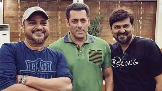 Sajid Khan, Salman Khan and Wajid Khan.