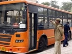 The DTC bus in Delhi(HT Photo)