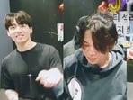 BTS members Jungkook, Jimin and J-Hope.