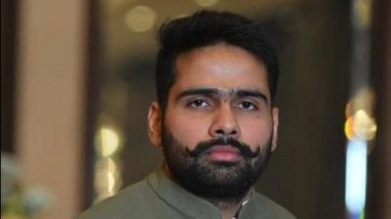 NSUI state president Akshay Sharma asserted that the government in 2022 will be formed by Congress with a stamp of approval from the youngsters. (Source: Twitter)