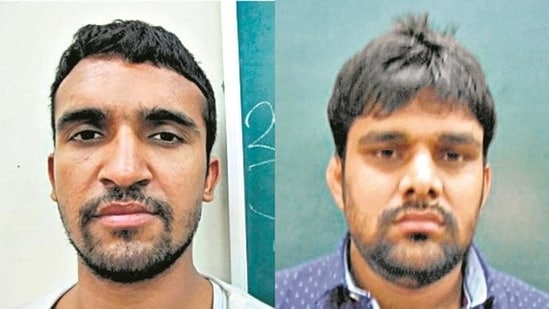 Jitender Maan alias Gogi and (right) Sunil Maan alias Tillu Tajpuria.(Sourced)
