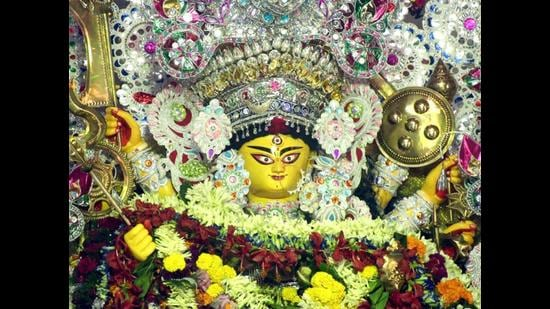 What sets Durga Puja apart from many other similar large-format festivals across the country, such as Diwali in the North, Pongal in the South, Ganesh Puja in the West, and Bihu in the Northeast, is not just its economic impact, but its unique theme pandals (something seen to a much lesser scale in the golus or kolus of Tamil Nadu and Karnataka where dolls are displayed on the nine days of Navaratri). (Agencies)