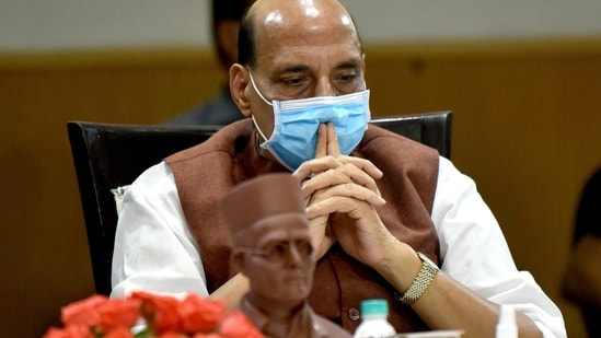 Defence minister Rajnath Singh said Gandhiji had asked Savarkar to file the mercy petitions.