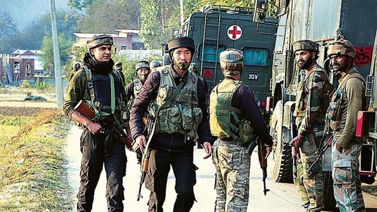 NIA spokesperson said that during the searches on Tuesday, several electronic devices, incriminating jehadi documents and records of suspicious financial transactions were seized.(ANI)