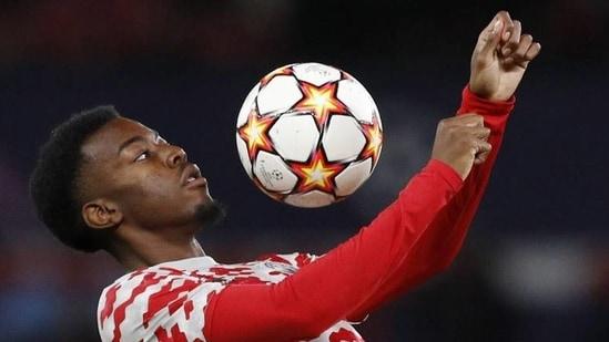 Manchester United winger Anthony Elanga(Reuters)