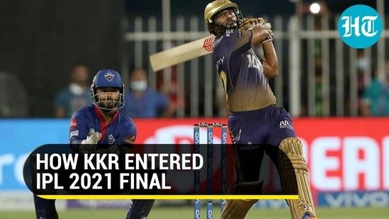 How KKR entered IPL 2021 final