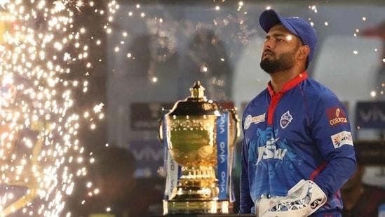 Delhi Capitals captain Rishabh Pant.(IPL)