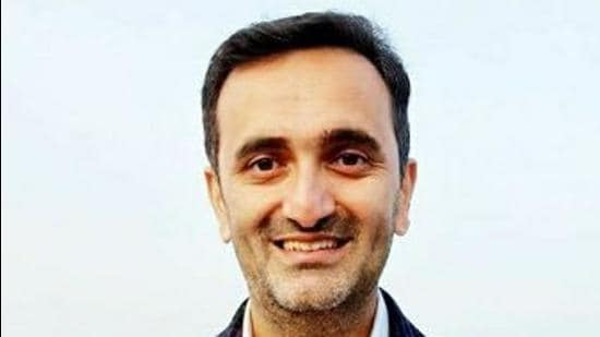 The BJP has given ticket to Neelam Seraik instead of Chetan Bragta (in picture), the eldest son of former horticulture minister Narendra Bragta, for upcoming bypoll in Jubbal and Kotkhai assembly segment of HP. (HT File Photo)
