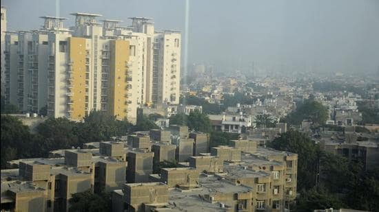 In a statement issued on Wednesday, the H-Rera, Gurugram said that it has taken suo motu cognisance of the issues pertaining to advertising housing projects without registry and imposed the fine. (HT Archive)