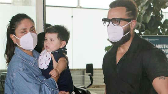 Saif Ali Khan and wife Kareena Kapoor Khan welcomed their second son, Jeh in February.
