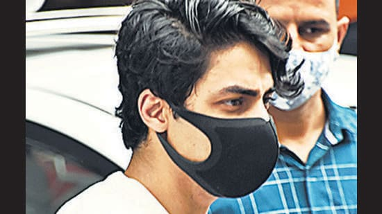 The Narcotics Control Bureau (NCB), while opposing the bail application of Aryan Khan, model Munmun Dhamecha and actor Arbaaz Merchant, told the court that they have written to the Ministry of External Affairs, seeking help to arrest a foreign national who has allegedly chatted with the accused and is a suspected peddler. (HT)