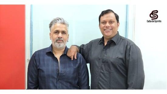 Founders of CaSa de Spirits - Sajay Moolankodan (L) and Carl Sequeira (R)