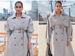 Sonam Kapoor recently flooded her Instagram with stills of herself in the fancy trench coat.(Instagram/@sonamkapoor)