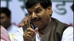 Shivpal said that a tie-up with the Samajwadi Party was still possible. (HT File Photo)