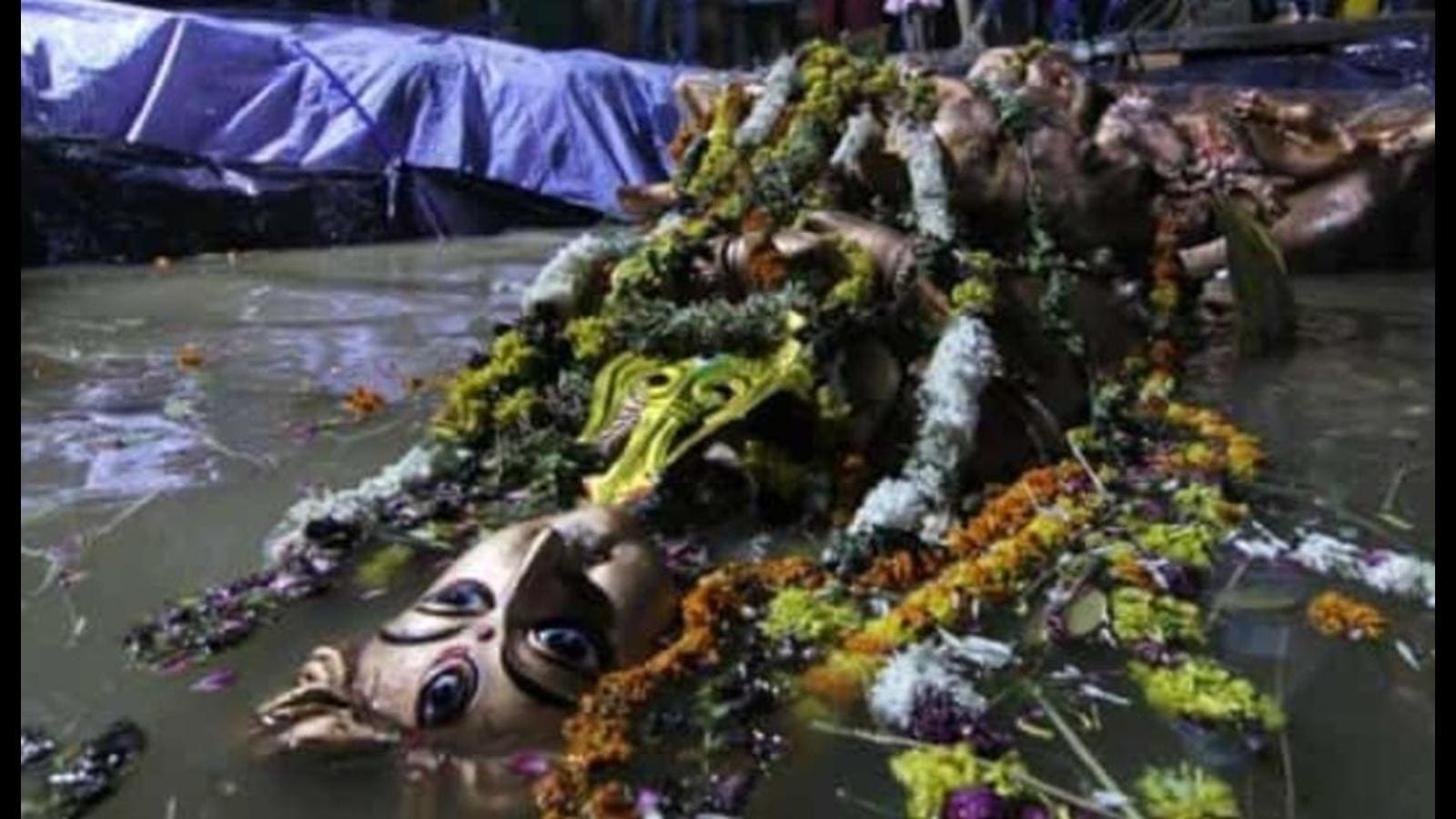 Time for eco-friendly idol immersion after Durga Puja