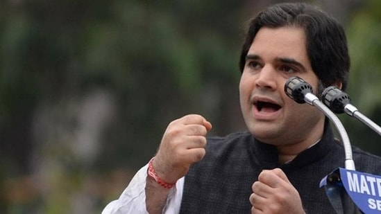 """""""Wise words from a big-hearted leader..."""" Varun Gandhi tweeted, sharing the video clip.(HT File Photo)"""