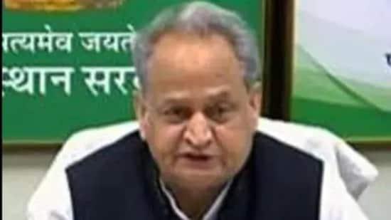 File photo: Rajasthan chief minister Ashok Gehlot. (ANI)
