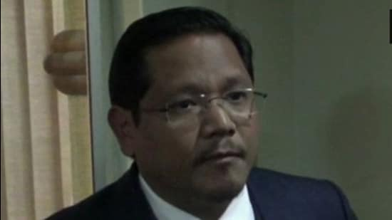 File photo: National People's Party chief and Meghalaya chief minister Conrad Sangma. (ANI)