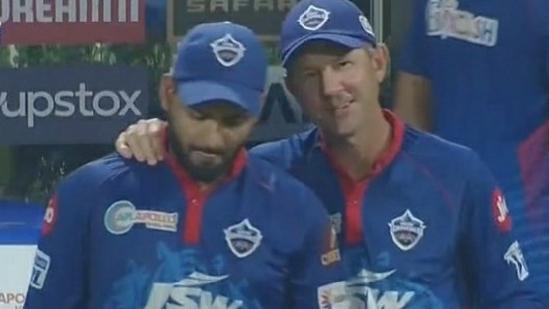 Ricky Ponting with DC Skipper Rishabh Pant(Twitter)