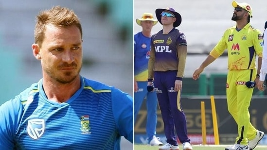 Dale Steyn predicts the winner of IPL 2021 final(HT Collage)