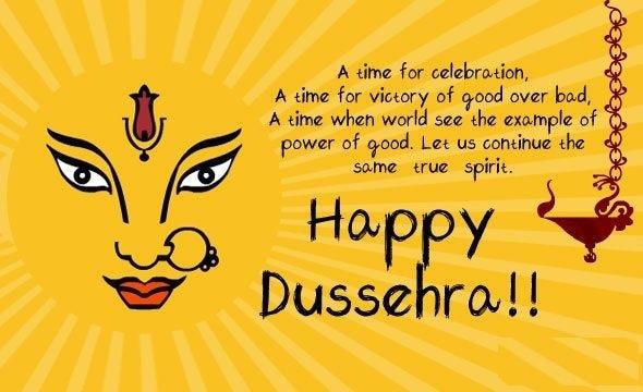 Happy Dussehra 2021 (Pintrest)