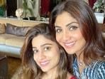 Shilpa Shetty and Shamita Shetty(Instagram)