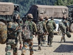 The JCO and the soldier were injured in the Poonch encounter on Thursday.(PTI File Photo)