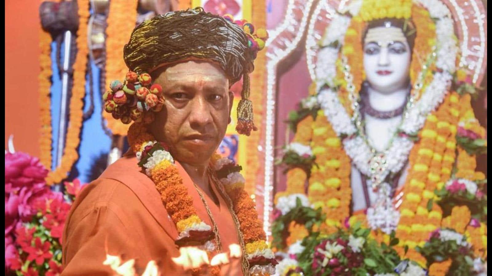 "Ram temple constructionexample of people's faith in ""right leadership"": Yogi"