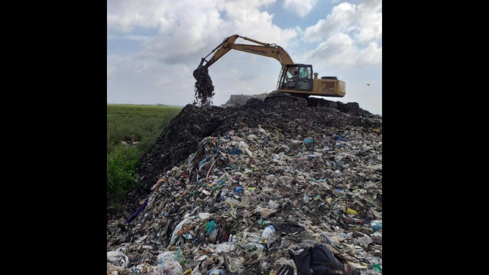 For garbage dumped on mangroves, MPCB issues penalty notice on Uran civic body