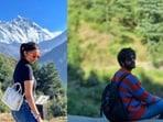 Parineeti Chopra and Kartik Aaryan shared their respective pictures on Instagram.